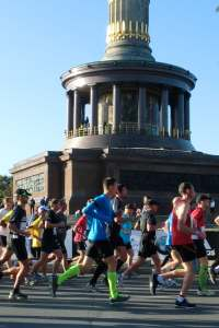 Berlin Marathon - Start der Läufer