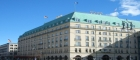 Hotel Adlon, landmark for 35.000 marathon runners on the final spurt to finish the Berlin Marathon