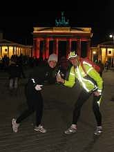Light-SightRunning zum Festval of Lights 2012 in Berlin