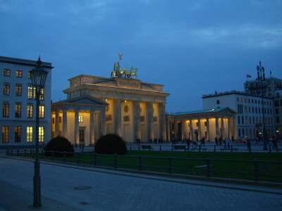 Nachtlauf ab dem Brandenburger Tor