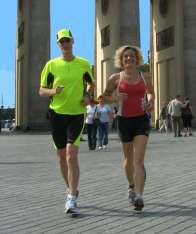 Run starts at Brandenburg Gate, Victory Column or Tiergarten
