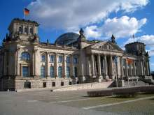 Reichstag building, since 1999 seat of the German parliament